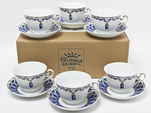 リチャードジノリ「フィオッコグレース」カップ&ソーサー6客セット riginori-12お茶のふじい・藤井茶舗