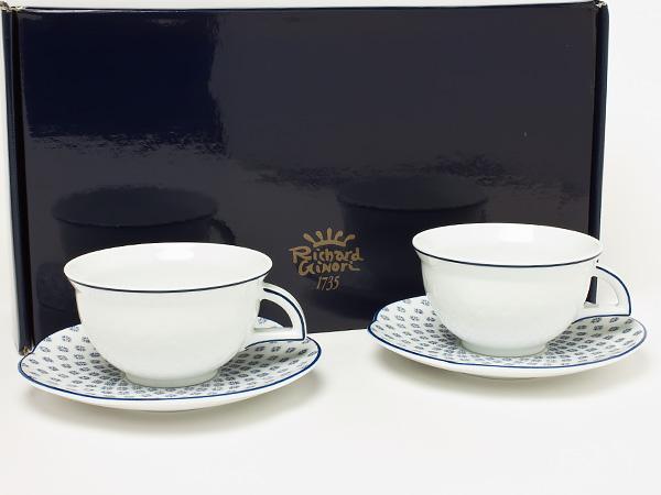 リチャードジノリ ペアカップ&ソーサー riginori-17お茶のふじい・藤井茶舗