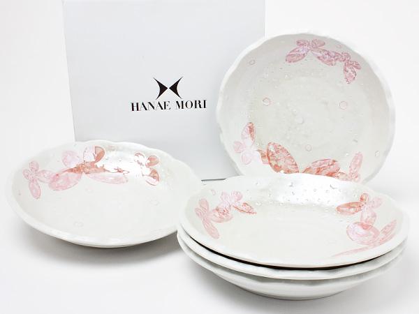 HANAE MORI(ハナエ モリ)デザートプレートセット(5枚組) hanaemori-09お茶のふじい・藤井茶舗