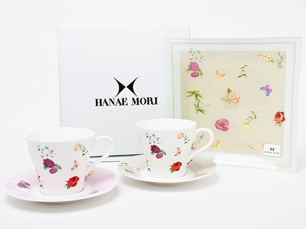 HANAE MORI(ハナエ モリ)トレー付き ペアコーヒーセット hanaemori-17お茶のふじい・藤井茶舗