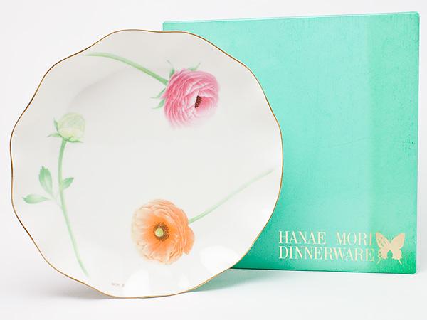 【送料無料】HANAE MORI(ハナエ モリ)ディナープレート(花柄) hanaemori-20お茶のふじい・藤井茶舗