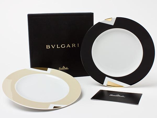 【送料無料】ブルガリ ペアデザートプレート bvlgari-18お茶のふじい・藤井茶舗
