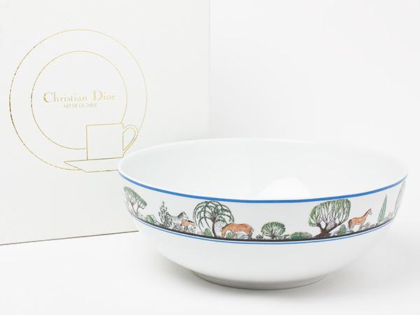 【送料無料】クリスチャンディオール ムスタング サラダボール(大) dior-08お茶のふじい・藤井茶舗