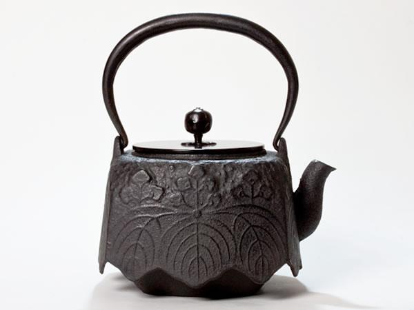 【送料無料】京鉄瓶 尾垂桐 tetubin-odare お茶のふじい・藤井茶舗