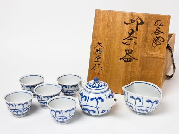 【送料無料】九谷焼 煎茶揃 CHAKIS01お茶のふじい・藤井茶舗