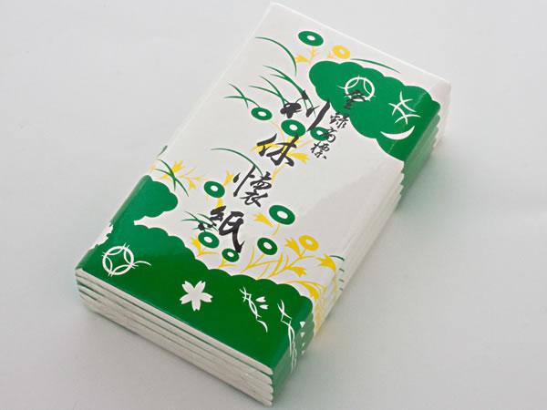 デポー 利休懐紙 大 入荷予定 30枚×5組 お茶のふじい 藤井茶舗 KAISHI-01