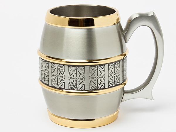 【送料無料】ペナンピューターシリーズビアマグカップ2個セットpenang-01/お茶のふじい・藤井茶舗