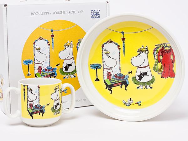 イッタラ/アラビア ムーミンキッズ食器セット(マグカップ・プレート) iittala-05お茶のふじい・藤井茶舗
