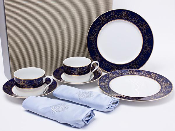 クリスチャンディオール パラディオ ペアカップ&ソーサー+デザートプレートセット dior-30お茶のふじい・藤井茶舗