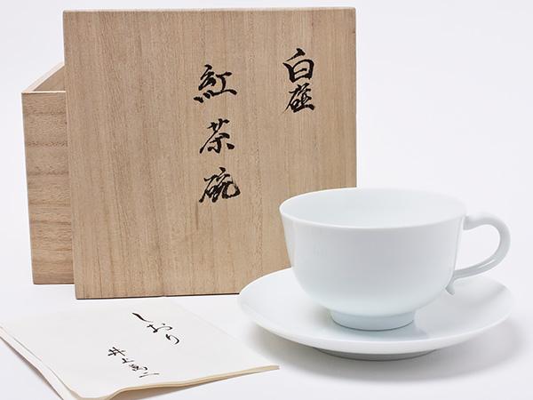 優れた品質 人間国宝 井上萬二 井上萬二 作 白磁紅葉茶碗 inouemanji-25お茶のふじい・藤井茶舗, 丸久金物:63d748b7 --- yatenderrao.com