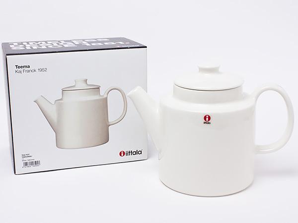 イッタラ ティーポット(ホワイト) iitala-06お茶のふじい・藤井茶舗