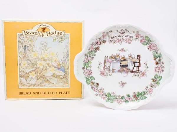 ロイヤルドルトン ブランベリーヘッジ ブレッド&バタープレート doulton-55お茶のふじい・藤井茶舗
