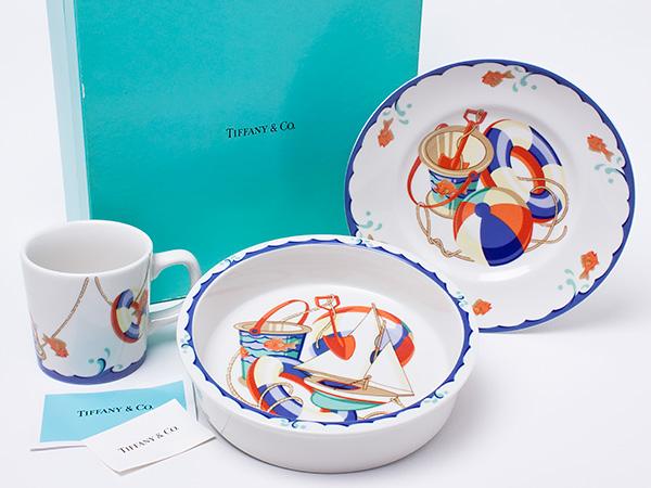 【送料無料】ティファニー Seashore ベビー食器セット tiffany-91お茶のふじい・藤井茶舗