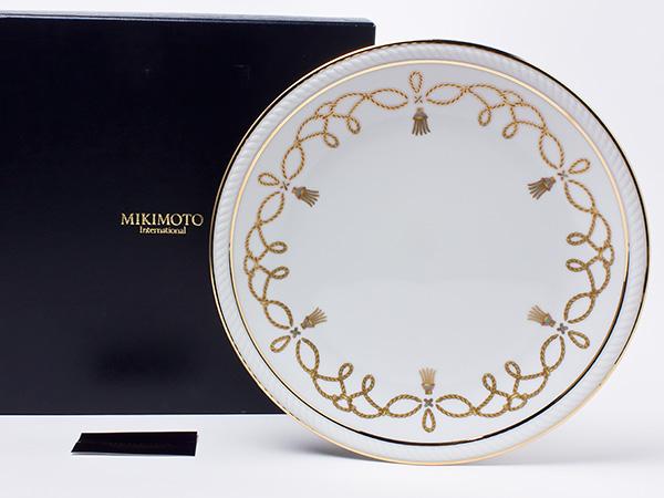 ミキモト インターナショナル ディナープレート mikimoto-03お茶のふじい・藤井茶舗