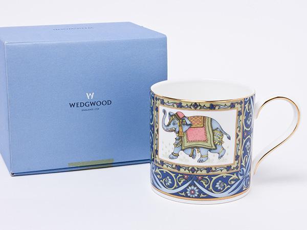 【送料無料】ウェッジウッド ブルーエレファント マグカップ wedg-55お茶のふじい・藤井茶舗