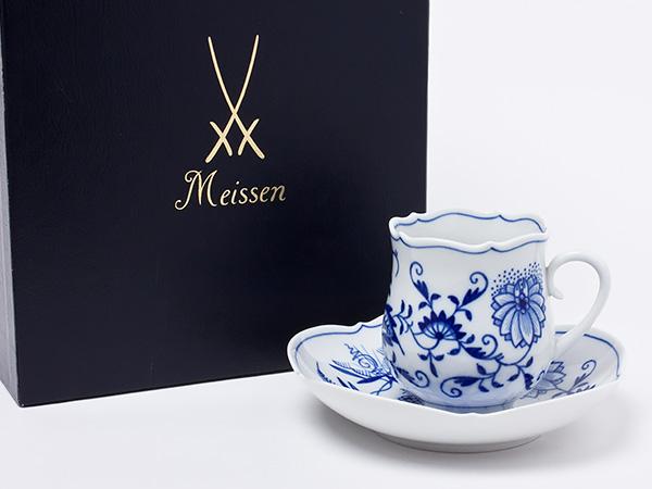 マイセン ブルーオニオン カップ&ソーサー meissen-20お茶のふじい・藤井茶舗