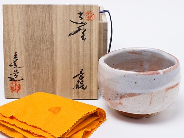 加藤春暁 作 志野茶碗 katou-s-01お茶のふじい・藤井茶舗