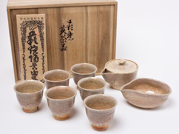 十一代 坂高麗佐衛門 造 煎茶器揃え saka-04お茶のふじい・藤井茶舗