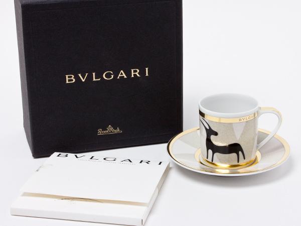 ブルガリ Pascolo Rupestre エスプレッソ カップ&ソーサー bvlgari-33お茶のふじい・藤井茶舗