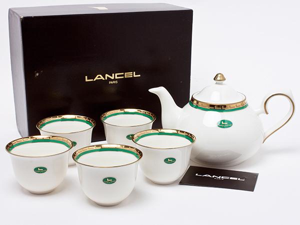 LANCEL ティーセット(急須1個+カップ5客) lancel-02お茶のふじい・藤井茶舗