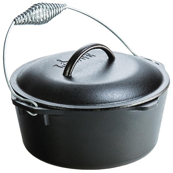 LODGE(ロッジ) [正規品]LDG ダッチオーブン 10-1/4 L8DO3 19240061ブラック ダッチオーブン クッキング用品 バーべキュー アウトドアギア
