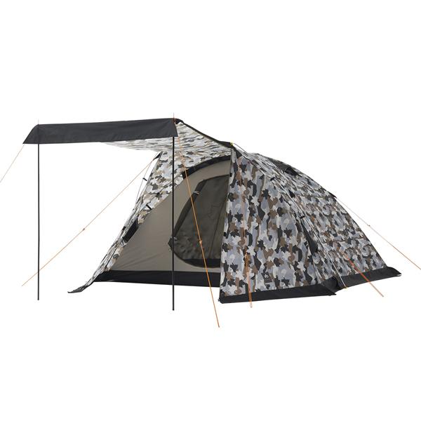 OUTDOOR LOGOS(ロゴス) ベーシックドーム・PLR XL(カモフラ) 71805026テント タープ キャンプ用テント キャンプ5 アウトドアギア