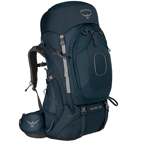 OSPREY(オスプレー) ジーニス 75/ディスカバリーブルー/M OS50013ブルー リュック バックパック バッグ トレッキングパック トレッキング大型 アウトドアギア