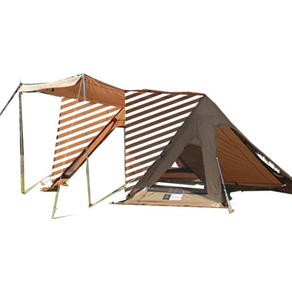 ogawa campal(小川キャンパル) N-04 サイドウォール 3560ブラウン テントアクセサリー タープ テント テントオプション サイドウォール アウトドアギア