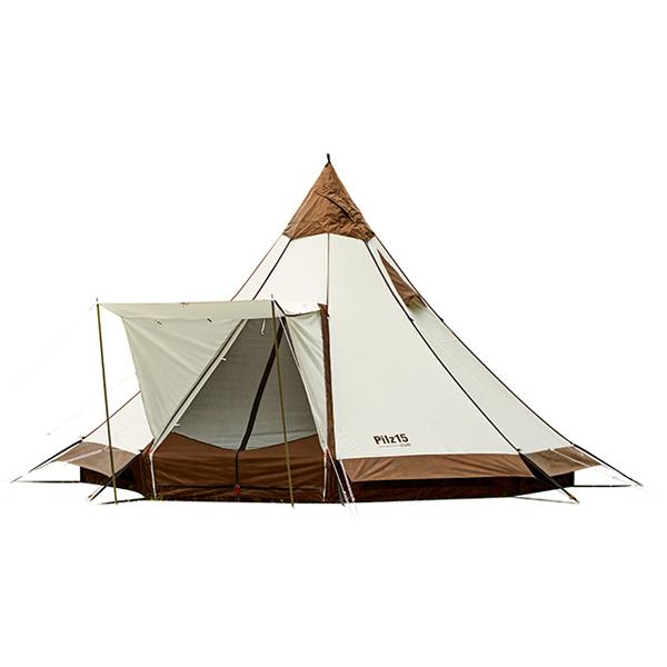 ogawa campal(小川キャンパル) ピルツ15T/C 2790八人用(8人用) モノポールテント テント タープ キャンプ用テント キャンプ大型 アウトドアギア