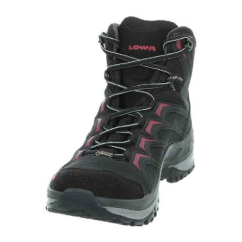 LOWA(ローバー) イノックスGT MID/ウィメンズ/BK/7 L320607-9952-7アウトドアギア ハイキング用女性用 トレッキングシューズ トレッキング 靴 ブーツ ブラック おうちキャンプ