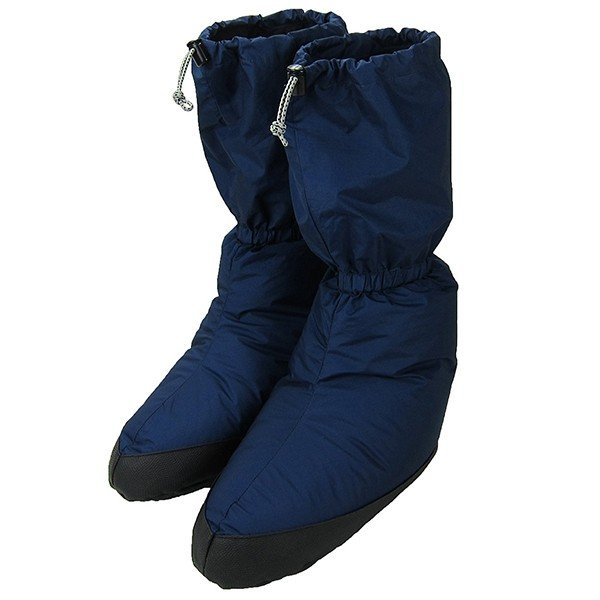 ISUKA(イスカ) ダウンプラス テントシューズ ロング S/ネイビーブルー 223021ネイビー 靴下 メンズウェア ウェア ウェアアクセサリー テントシューズ アウトドアウェア