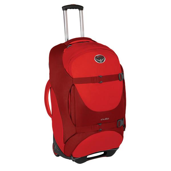 OSPREY(オスプレー) シャトル100(30インチ)/ディアブロレッド OS55125レッド キャリーバッグ スーツケース トラベル・ビジネスバッグ キャスターバッグ アウトドアギア