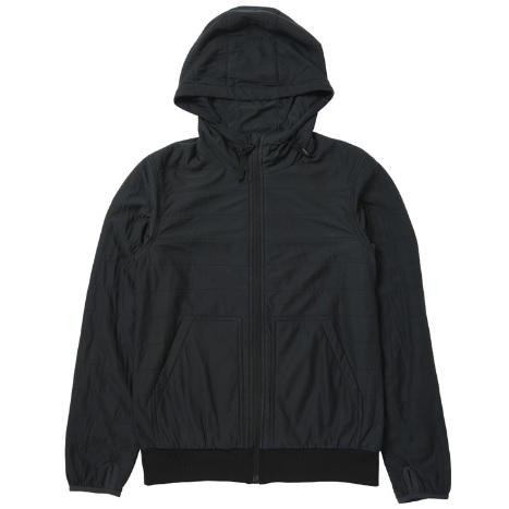 snow peak(スノーピーク) Flexible Insulated Hoodie/Black/M SW-16SU001アウター メンズウェア ウェア ジャケット 中綿入り ジャケット 中綿入り男性用 アウトドアウェア