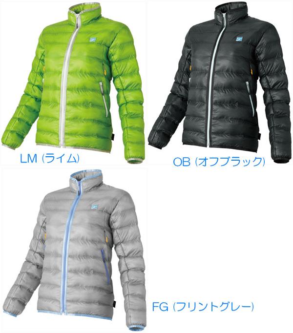 finetrack(ファイントラック) WOMENSフラッフジャケット/LM/S FIW0101アウター メンズウェア ウェア ジャケット 中綿入り ジャケット 中綿入り女性用 アウトドアウェア