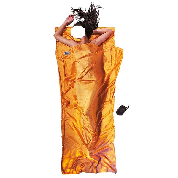 COCOON(コクーン) コクーンST71Tシーツシルクサンセットオレンジ 12550001オレンジ インナーシーツ アウトドア用寝具 アウトドア スリーピングバッグインナー スリーピングバッグインナー アウトドアギア
