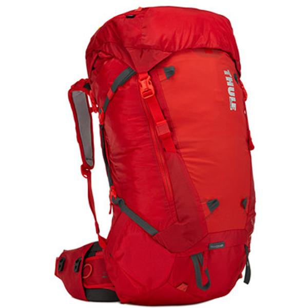 THULE(スーリー) Thule Versant 50L Mens Backpacking Pack Bing/レッド 211300男性用 レッド リュック バックパック バッグ トレッキングパック トレッキング50 アウトドアギア