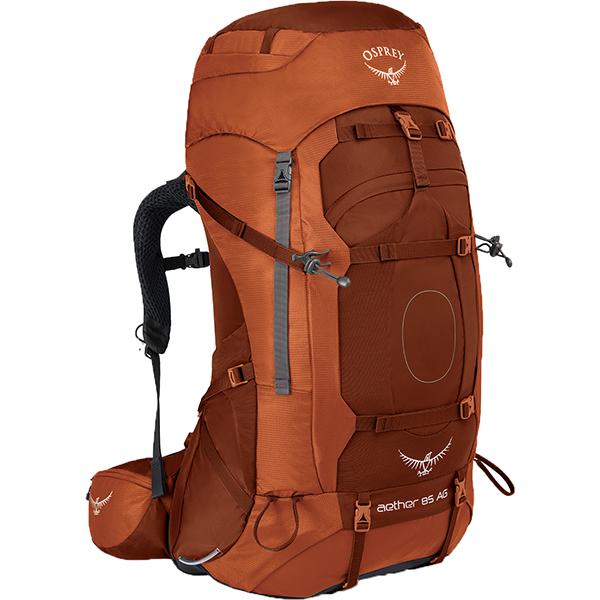 OSPREY(オスプレー) イーサーAG 85/アウトバックオレンジ/M OS50060002005アウトドアギア トレッキング大型 トレッキングパック バッグ バックパック リュック オレンジ