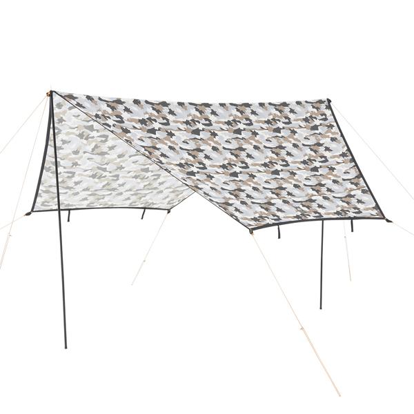 OUTDOOR LOGOS(ロゴス) ツーリングタープ(カモフラ) 71808026テント タープ ツーリング用テント ツーリング用テント アウトドアギア