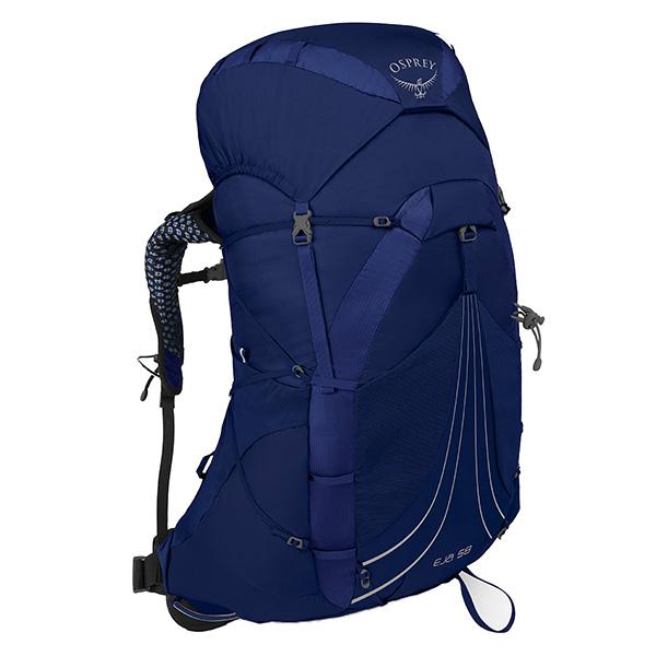 OSPREY(オスプレー) エイジャ 58/イクイノックスブルー/M OS50335002005アウトドアギア トレッキング50 トレッキングパック バッグ バックパック リュック ブルー 女性用 おうちキャンプ