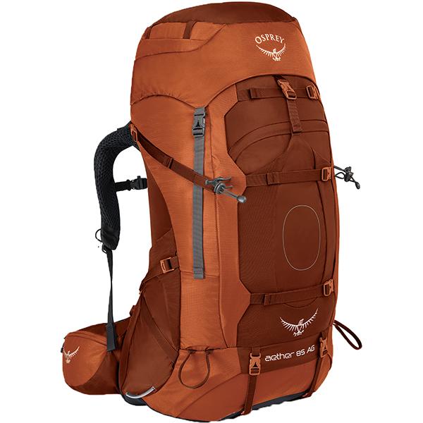 OSPREY(オスプレー) イーサーAG 85/アウトバックオレンジ/L OS50060オレンジ リュック バックパック バッグ トレッキングパック トレッキング大型 アウトドアギア