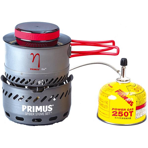 primus(プリムス) イータ スパイダー P-ETA-ESPキャンプ用バーナー クッキング用品 バーべキュー シングルバーナーストーブ ストーブガス アウトドアギア