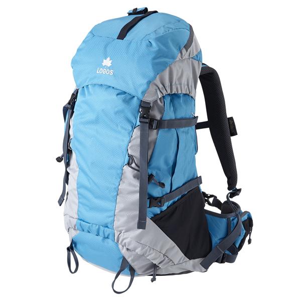 OUTDOOR LOGOS(ロゴス) ADVEL リュック45(ブルー) 88250153ブルー リュック バックパック バッグ トレッキングパック トレッキング40 アウトドアギア