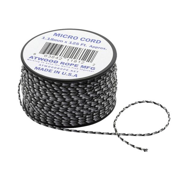 Atwoodrope(アトウッドロープ) マイクロコード/アーバンカモ 44003カモフラージュ テントアクセサリー タープ テント ハンマー・ペグ・ロープ等 ロープ、自在金具 アウトドアギア
