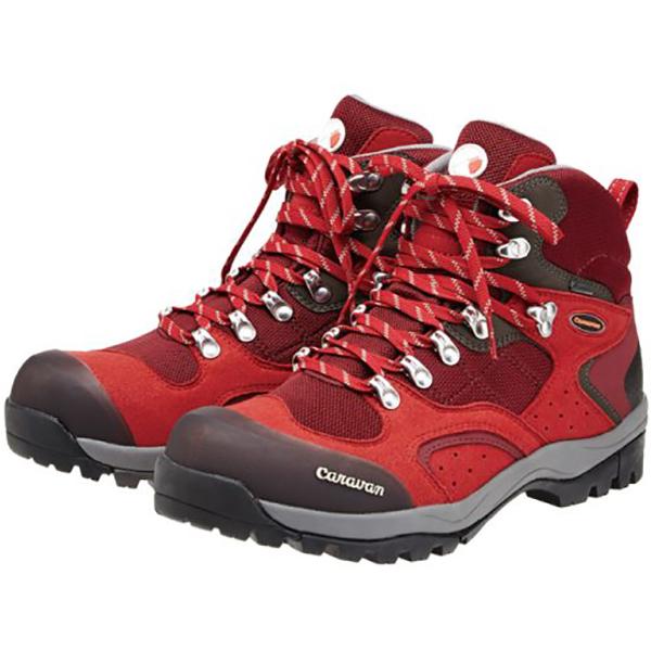 Caravan(キャラバン) キャラバンシューズC 1_02S/220レッド/24.5cm 0010106男女兼用 レッド ブーツ 靴 トレッキング トレッキングシューズ トレッキング用 アウトドアギア
