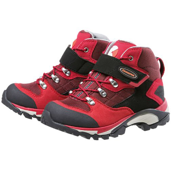 Caravan(キャラバン) キャラバンシューズC1_JR/220レッド/22cm 0010109子供用 レッド ブーツ 靴 トレッキング トレッキングシューズ ジュニア用 アウトドアギア