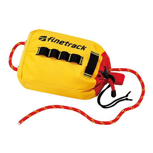 finetrack(ファイントラック) スローバッグ20/YL FWG0117アウトドアギア シングルロープ ロープ アウトドア 登山 トレッキング おうちキャンプ