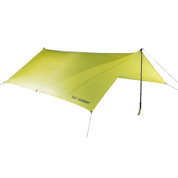 SEA TO SUMMIT(シートゥーサミット) エスケーピスト 15Dタープ/L ST82013001アウトドアギア スクエア型タープ テント オールシーズンタイプ 二人用(2人用) イエロー おうちキャンプ