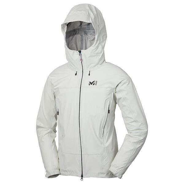 MILLET(ミレー) TYPHON 50000 ST JKT/CLOUD DANCER(7365)/XL MIV01479男性用 ホワイト レインジャケット レインウェア ウェア レインウェア(ジャケット) レインウェア男性用(男女兼用) アウトドアウェア