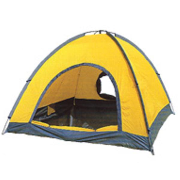 Ripen(ライペン アライテント) ベーシックドーム 0340100アウトドアギア 登山4 登山用テント タープ オールシーズンタイプ 四人用(4人用) イエロー おうちキャンプ ベランピング