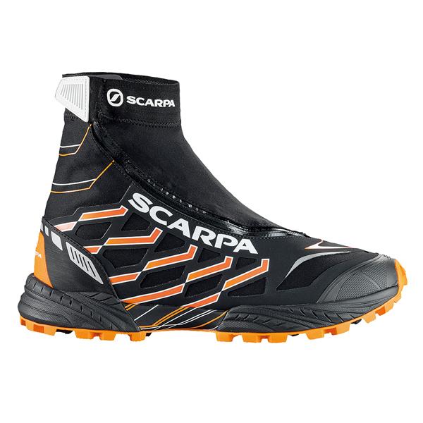 SCARPA(スカルパ) ニュートロン G/ブラック/オレンジ/#42 SC25040男性用 ブラック ブーツ 靴 トレッキング アウトドアスポーツシューズ トレイルランシューズ アウトドアギア